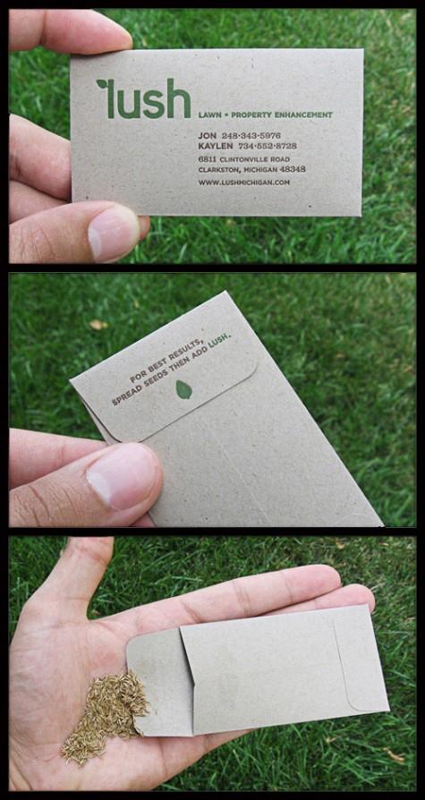 ejemplo tarjeta de visista crativa