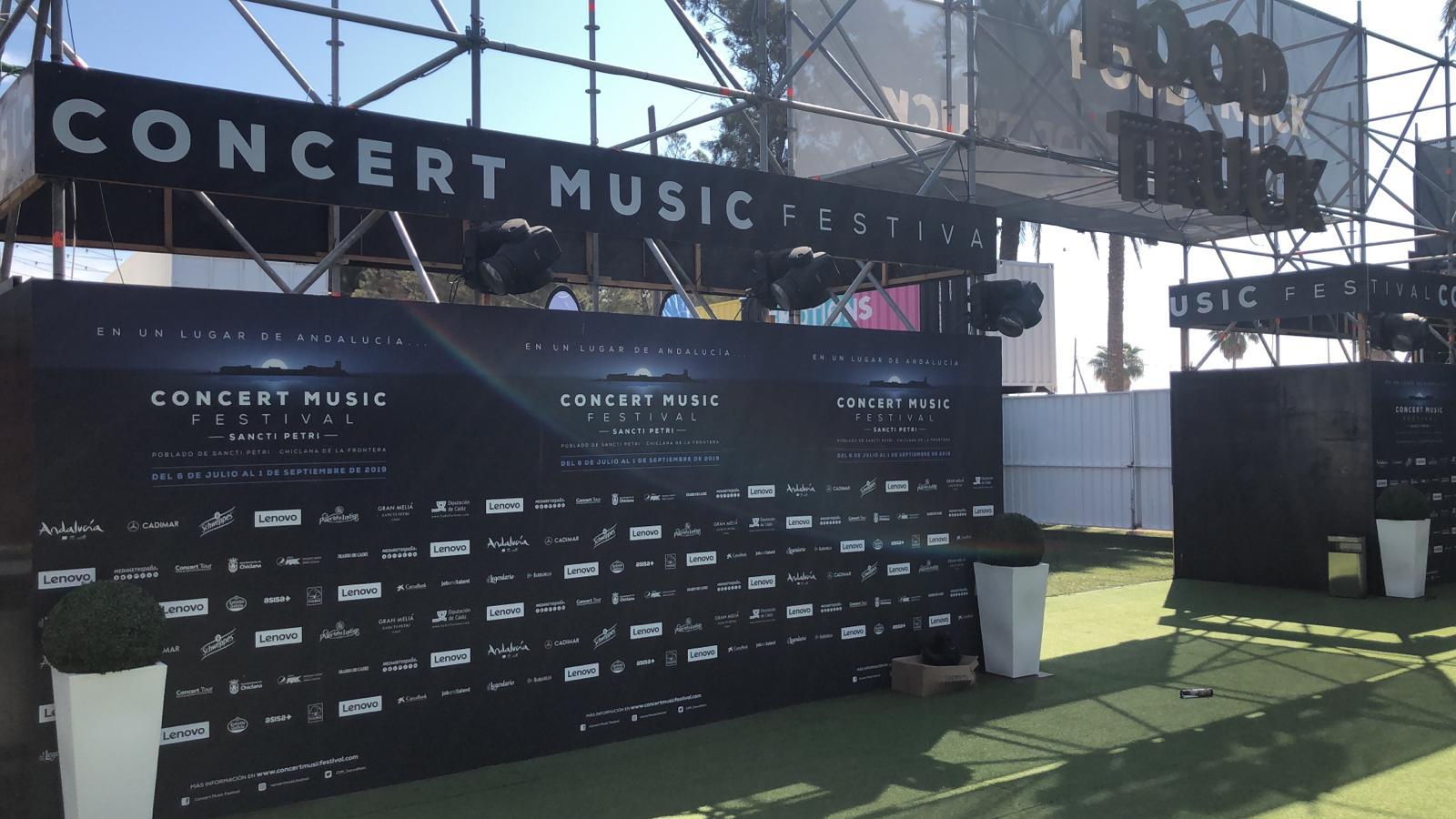 concert music festival chiclana rotulacion