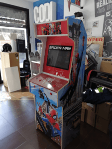 Máquina recreativa personalizada de Spiderman