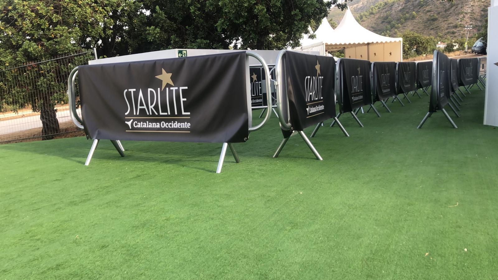 Lonas de Starlite para vallas